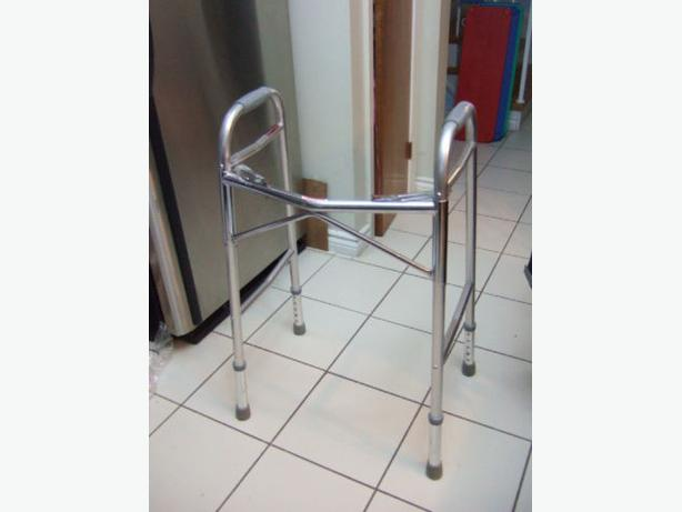 Excellent Condition Walker (Folds Up), No Wheels