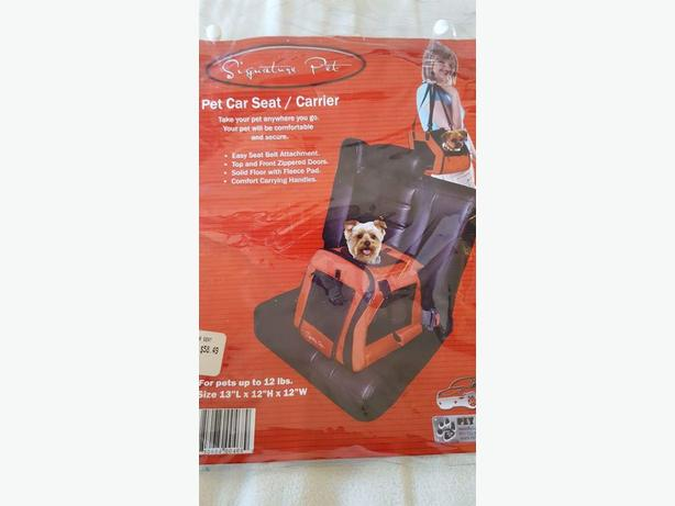 Signature pet car seat/carrier