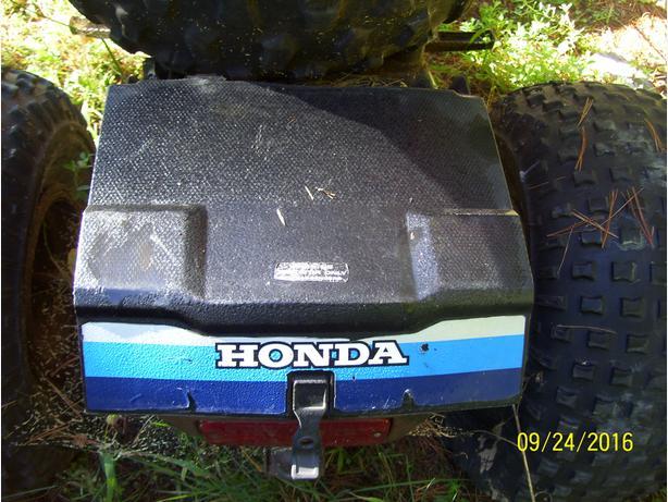 Honda 200E 200M 200ES toolbox tool box toolkit storage box