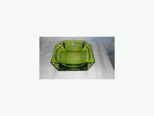 depression glass ashtray