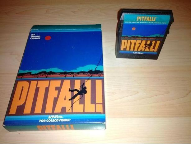 Pitfall! For The Colecovision With Box