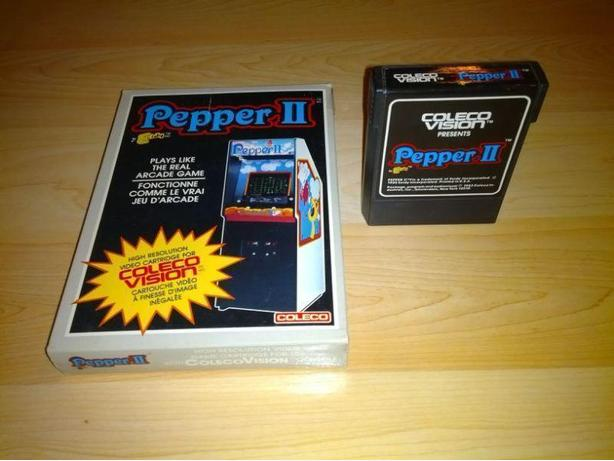 Pepper II For The Colecovision With Box