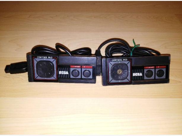 Pair Of Sega Master System Controllers