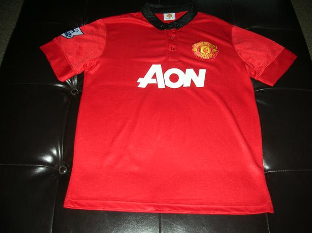 MANCHESTER UNITED RED JERSEY #0007