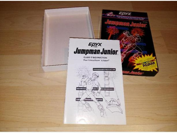 Colecovision Jumpman Junior Box Only - Mint Condition