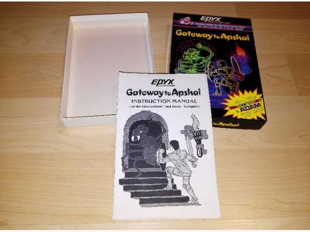 Gateway To Apshai For The Colecovision - Box & Manual Only