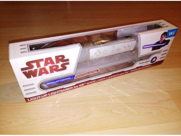 Nintendo Wii Star Wars Light Saber Controller Attachment - NEW