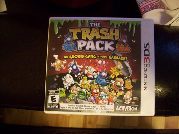 The Trash Pack 3DS Game