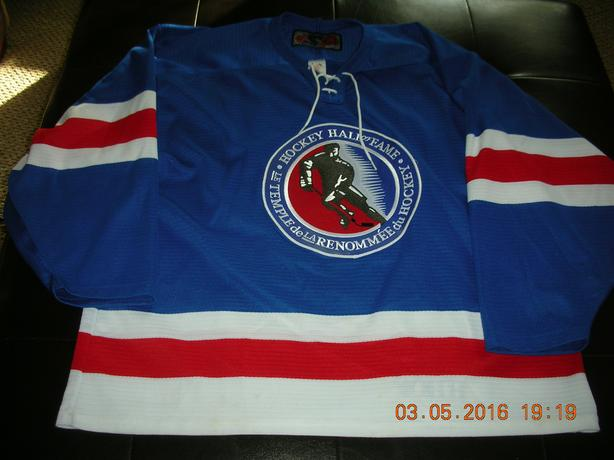 HOCKEY HALL OF FAME JERSEY