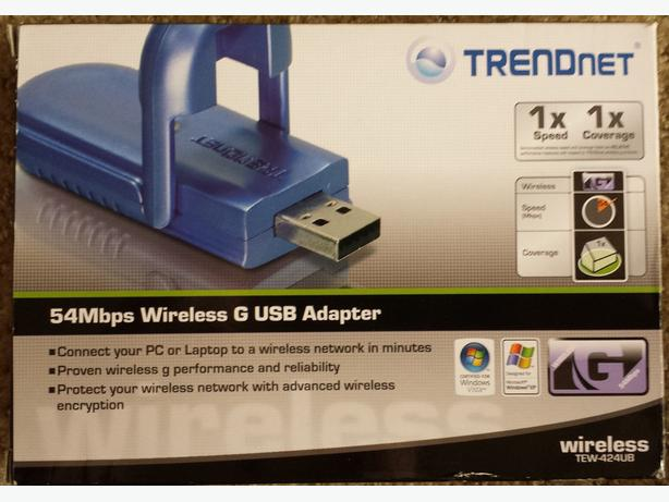 54 Mbps Wireless G USB Adapter - WIFI Adapter