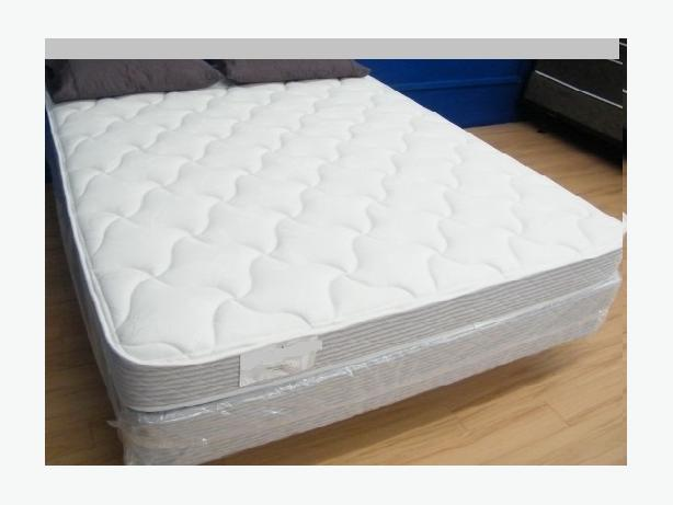 Mattress set used only for a show room bed