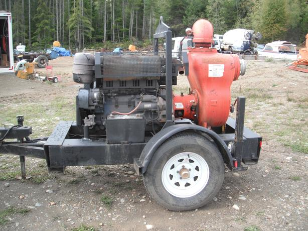 "Water pump diesel driven 6 "" multiquip"