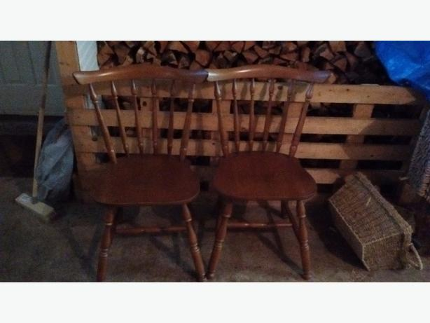 2 x Wooden Chairs