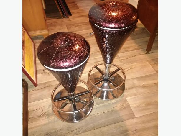 Awesome purple icecream cone counter stools