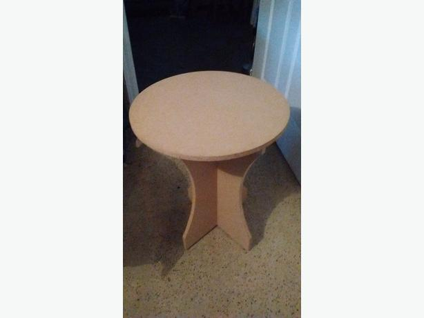 Project table with glass top