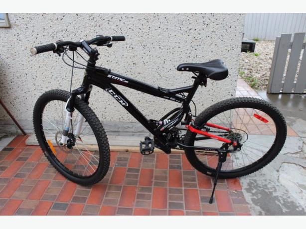 "CCM Static 26"" Dual Suspension Mountain Bike - $150 firm"