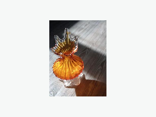 flower vase 1950 harvest sun orange