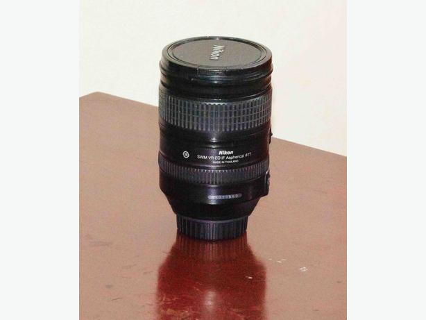 Nikor VR ED IF 28mm-300mm 3.5 lens