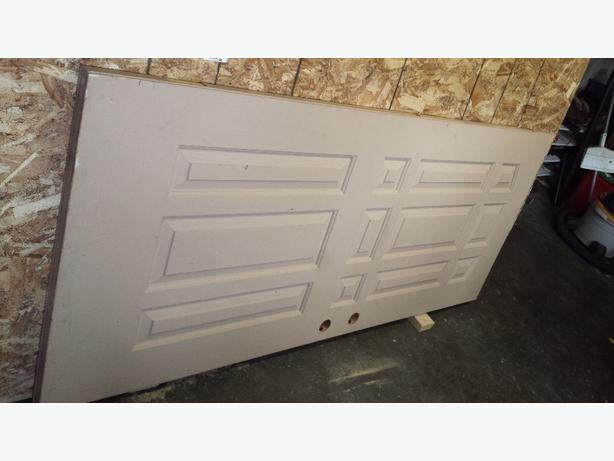 solid 34 inch interior door