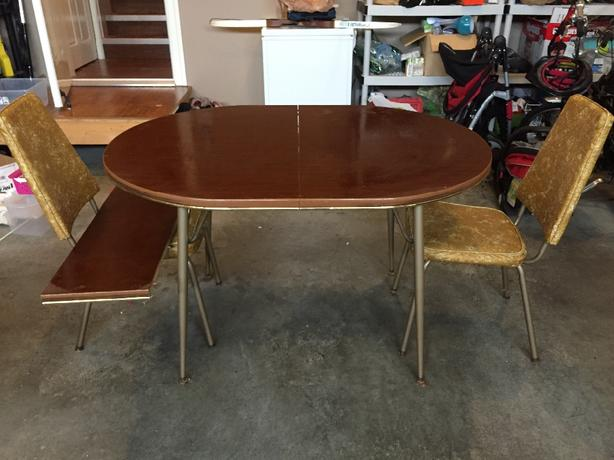 FREE: Dining table with two chairs