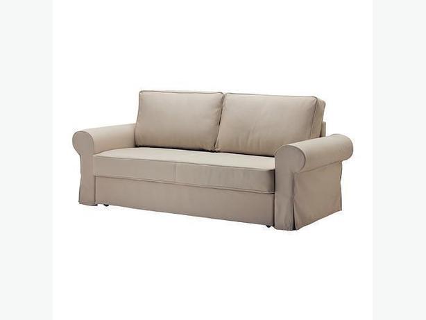 Ikea BACKABRO Sofabed Slipcover - Tygelsjo Beige (702.609.71)