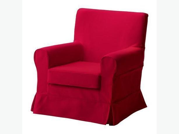 Ikea EKTORP JENNYLUND Armchair Cover - Idemo Red