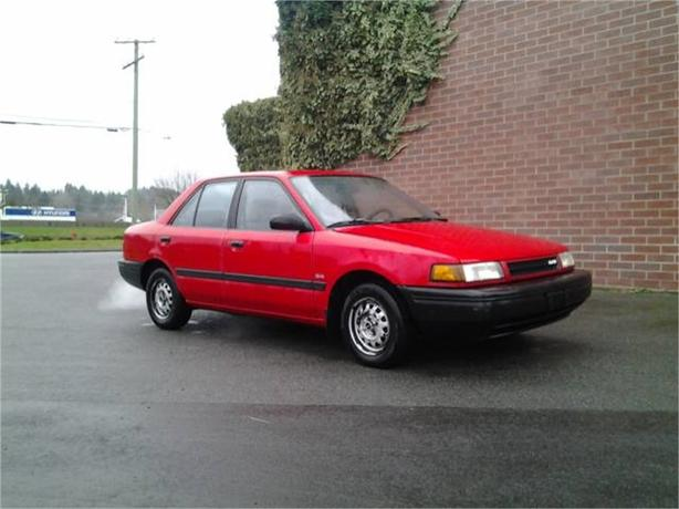 1991 Mazda Protegé LX