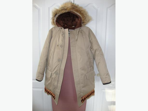 Down Parka with Hood for men Size 42 Warm - REVISED