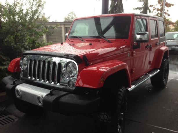 Jeep Wangler Sahara