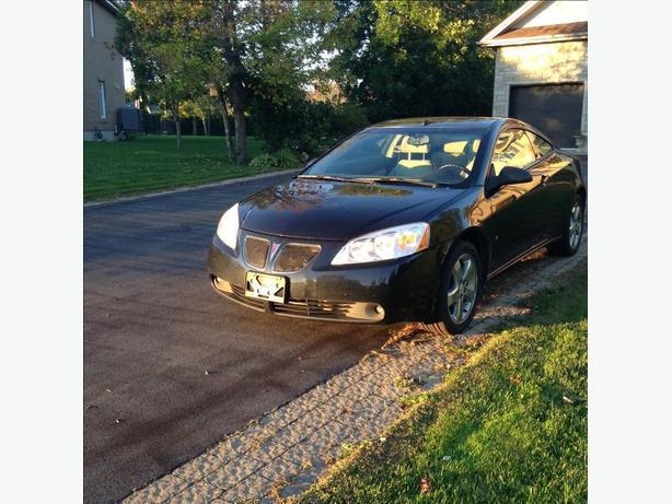2008 Black Pontiac G6 GT Coupe