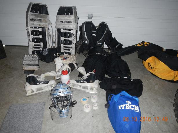 adult goalie gear complete
