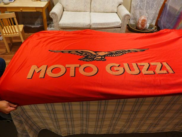 Moto Guzzi factory motorcycle cover