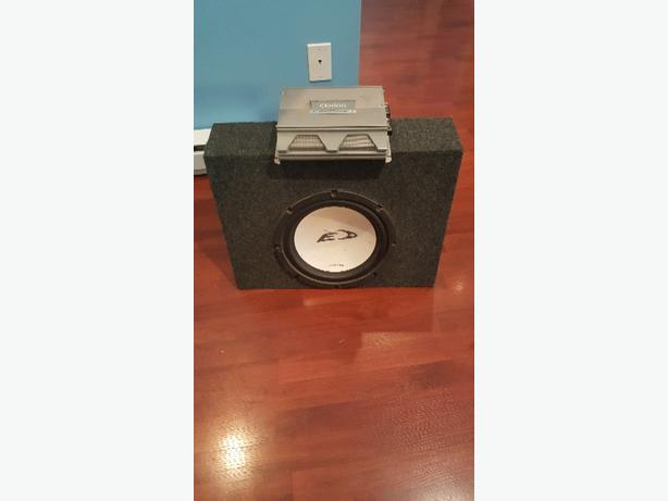 "12"" sub and amp PRICE DROP"