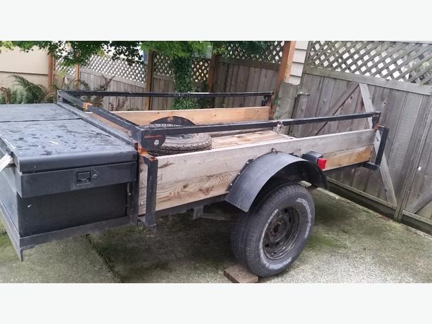 8x4 trailer with storage box