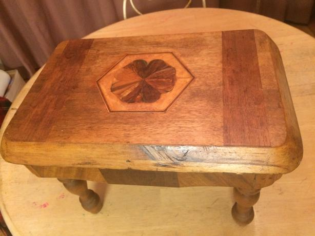 Wooden Maple footstool