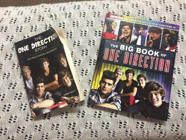 One Direction Books - The Big Book of One Direction / The One Direction Story