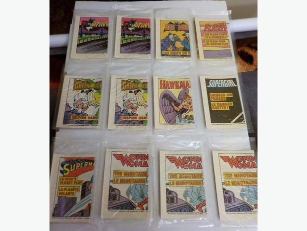 1981 POST CEREAL/DC MINI-SERIES COMICS - RARE CANADIAN GIVEAWAY LOT OF 12 SEALED