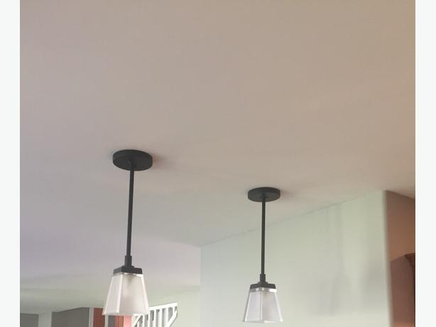 Two Pendant Lights