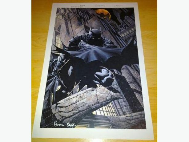 Artist Signed Comic Art Prints