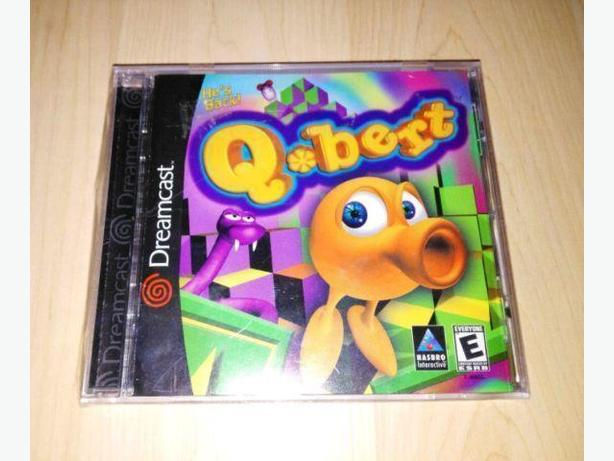 Q*Bert For The Sega Dreamcast - Brand New