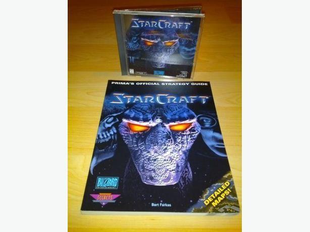 Star Craft With Strategy Guide For The PC