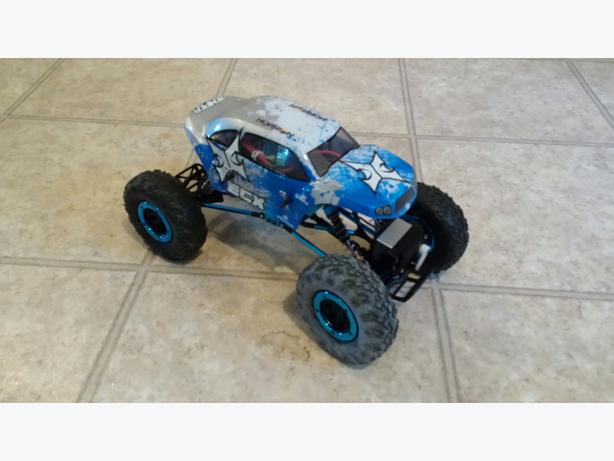 ECX Temper RC Crawler and Team Associated SC10 2WD RC Truck
