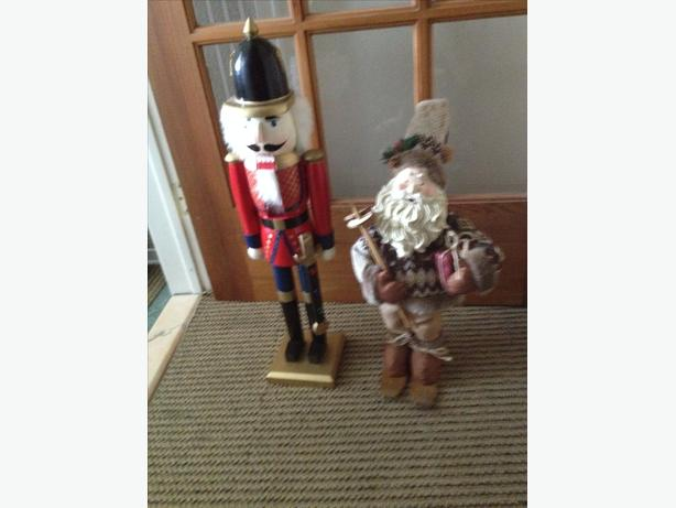 Nut Cracker and Santa