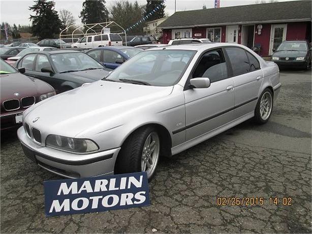 1999 BMW 540i 540iA