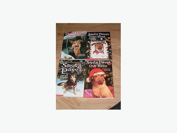 Santa paws books