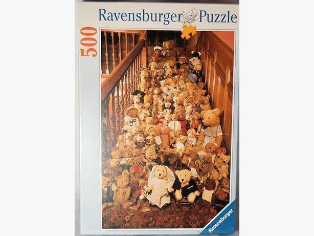 TEDDY BEARS WEDDING DAY JIGSAW PUZZLE