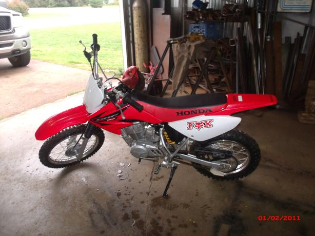 2005 Honda CRF80F Dirt Bike