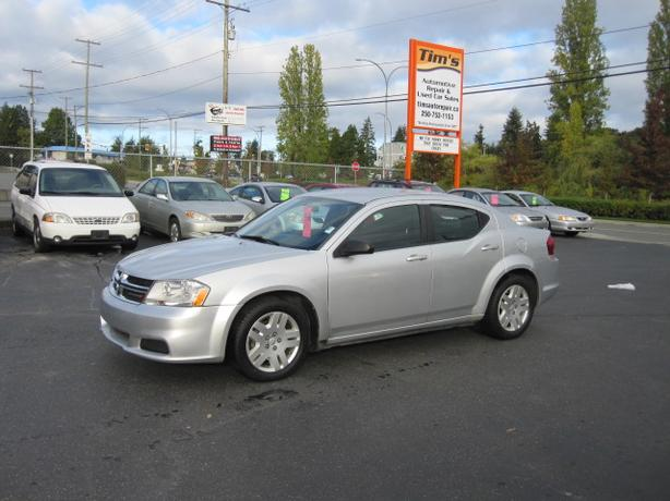 2011 DODGE AVENGER WITH 97,000 KMS AIRT CONDITIONING