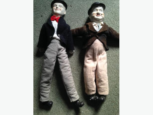 Laurel and Hardy Porcelain Dolls