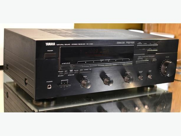 YAMAHA RX-V480 AV STEREO SURROUND RECEIVER, AUDIOPHILE QUALITY